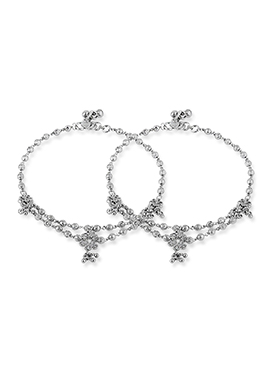 Silver Colored Anklet