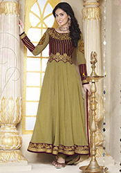Striking Bruna Abdullah Ankle Length Anarkali