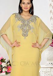 Superb Yellow Farasha Kaftan