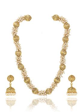 Tiny Beaded Necklace Set