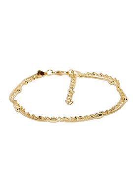 Toniq Golden Stylish Designed Bracelet
