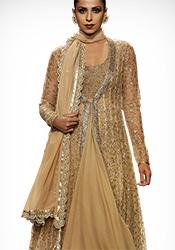 Vikram Phadnis Net Jacket Style Anarkali
