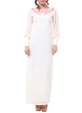 White Label ISHI Side Slit Gown
