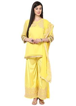 Yellow Home India Palazzo Suit