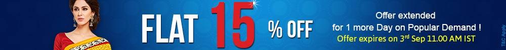15% off