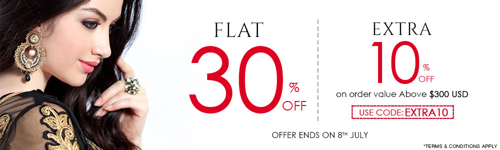Flat 30% off and Even More