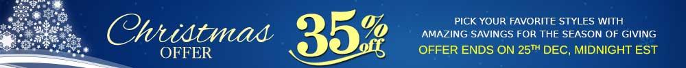 Flat 35% off
