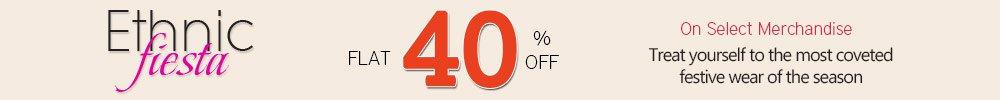 Flat 40% Off. Shop Now!