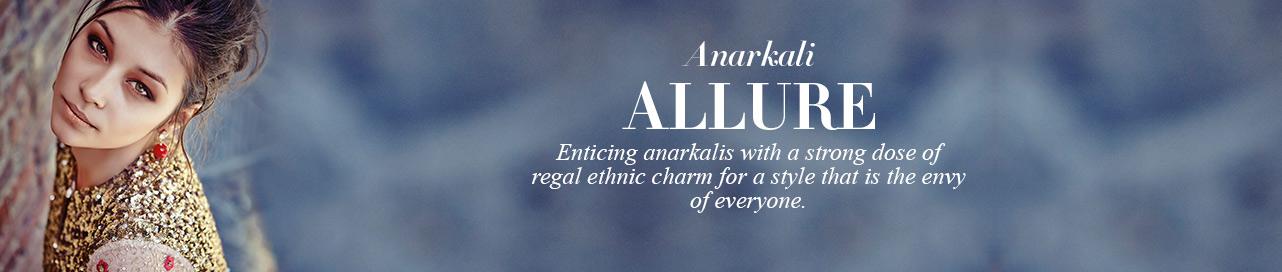 Mughal Inspired Anarkalis