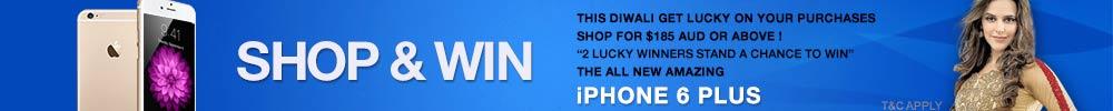 Shop & Win iPhone 6 Plus