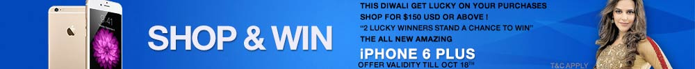 Shop and Win iphone 6 Plus