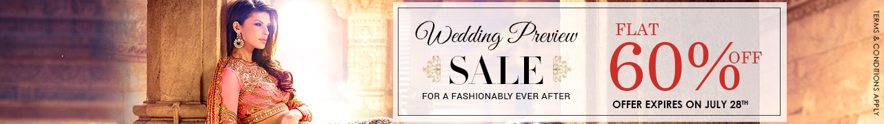 Wedding Preview Sale