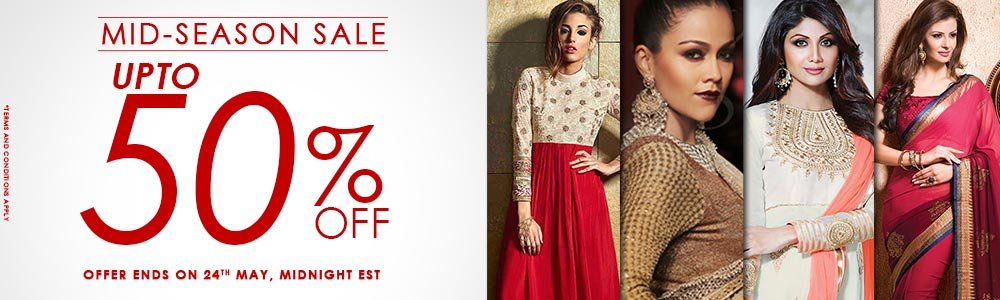 Sale Upto 50% off