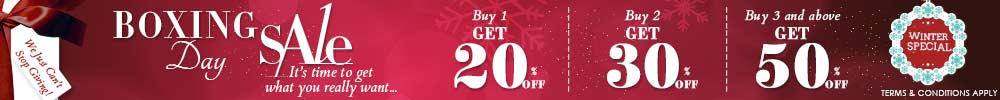 Boxing Day Winter Offer