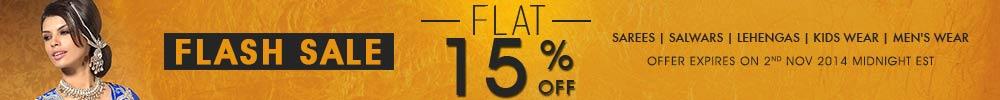 Flat 15% Offer. Shop Now!