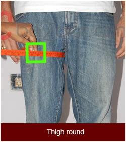 Pant thigh