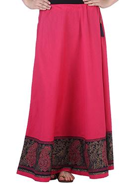 9rasa Pink Cotton Skirt