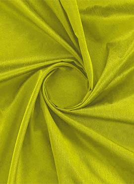 Apple Green Dupion Silk Fabric
