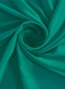 Aqua Green Chiffon Fabric