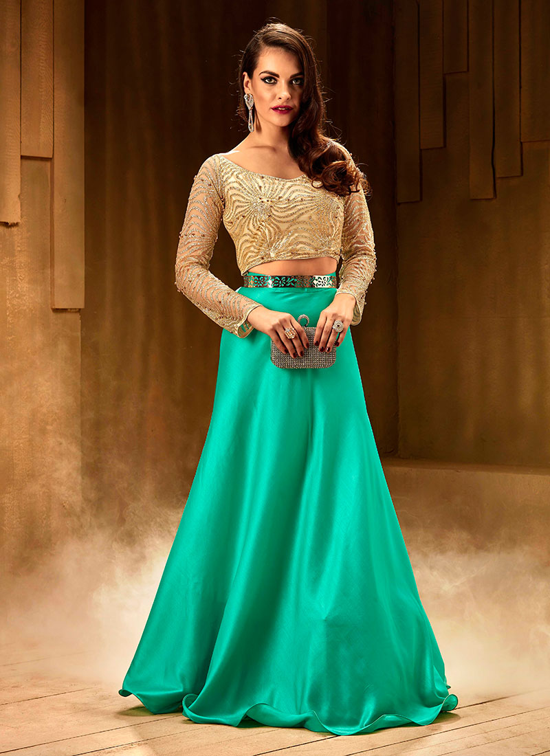 Funky Indo Western Dress For Marriage Pictures - All Wedding Dresses ...