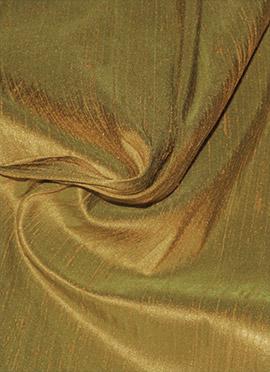 Beige Raw Silk Fabric