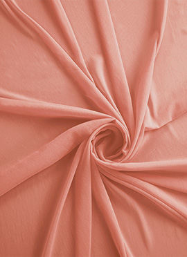 Blooming Dahlia Georgette Fabric