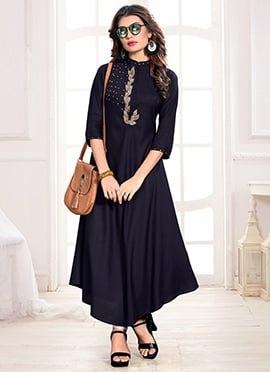 97184af65b Ladies Long Kurtis - Buy Designer Long Kurtis Online Shopping
