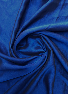 Blue Georgette Fabric