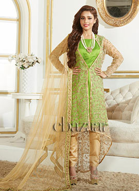 Bollywood Vogue Asymmetrical kameez Suit