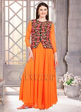Bollywood Vogue Jacket Style Anarkali Suit