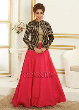 Bollywood Vogue Lehenga Choli With Short Jacket
