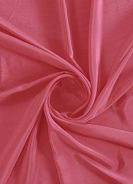 Calypso Coral Crepe Fabric