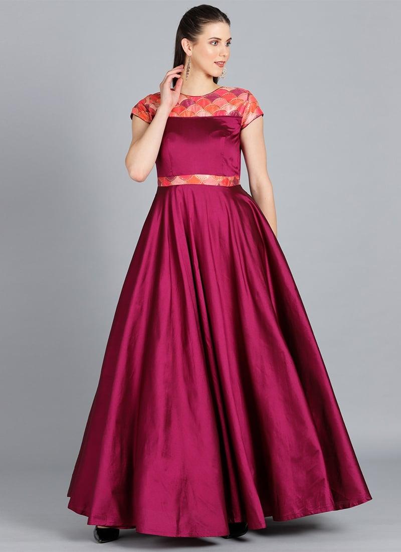 99f9e9206297 Buy Custom Designed Tillandsia Purple Embroidered Gown ...