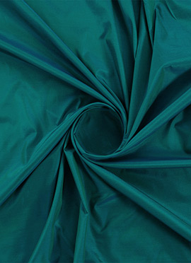 Tropical Green Soft Silk Fabric