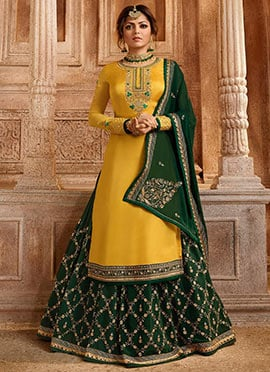 d0a27386b73 Long Lehenga choli  Indian Designer Long Lehenga choli