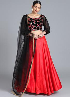 2ffd3c606e Buy Velvet Lehengas | Online Designer Velvet Lehenga Choli | Wedding ...