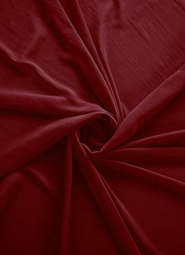 Haute Red Georgette Fabric