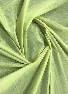 Light green Chanderi Cotton Fabric