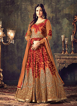95c7d1a1f07 Buy Indian Latest Designer Anarkali Salwar Suits Online- Cbazaar