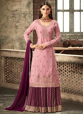 a96b8eec05 Palazzo Suit: Buy Salwar Kameez Palazzo Suit | Online Wedding ...