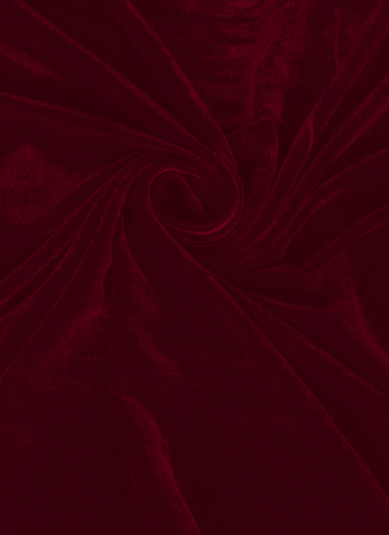 Buy Red Velvet Fabric Art Silk Blended Solids Online