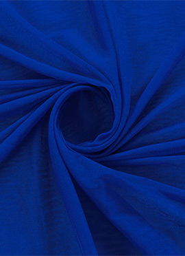 Royal Blue Opal Net Fabric