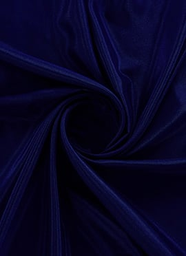 Royal Blue Opal Santoon Fabric