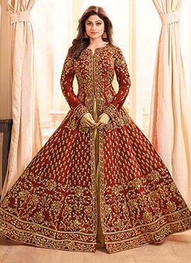 1993264c84 Buy Latest Anarkali Lehenga Choli Online Shopping At Prices