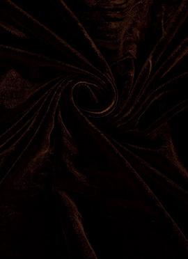 Smoked Paprika Velvet Fabric