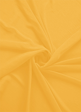 Spectra Yellow Georgette Fabric