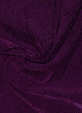 Tillandsia Purple Raw Silk Fabric