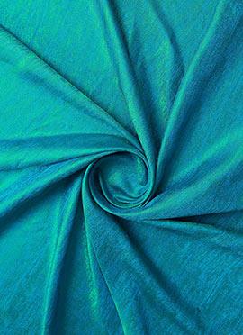 Turquoise Art Silk Fabric