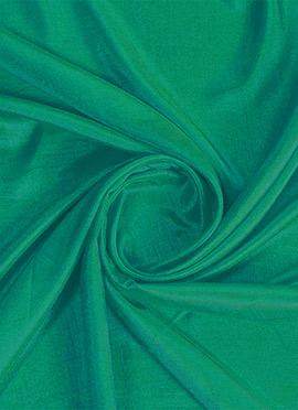 Turquoise Green Art Silk Fabric