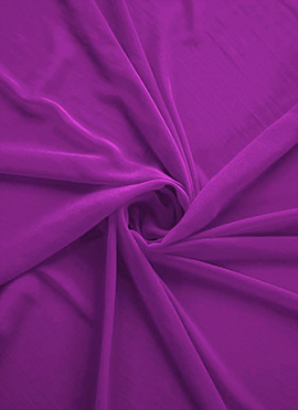Violet Georgette Fabric